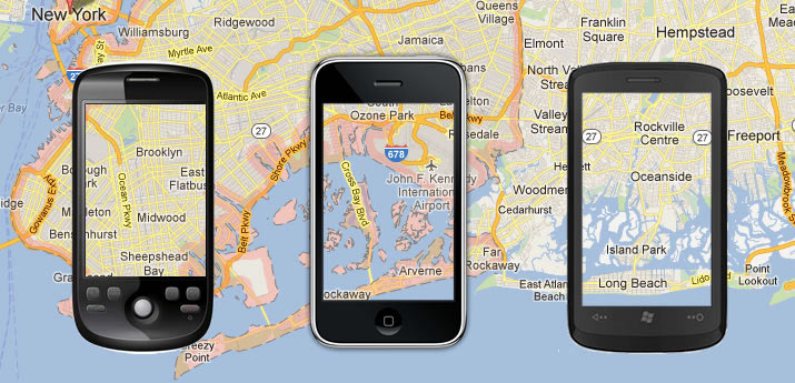 GPS mobile tracking