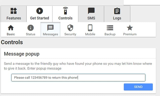 Lost Android app review – Control & find your lost phone remotely