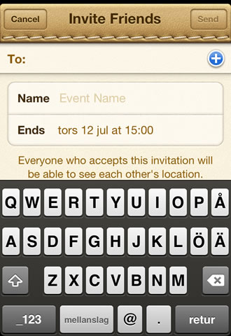 Find my friends app - cell phone tracker - invite friends