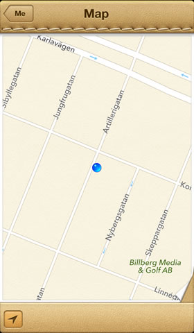 Find my friends by Apple - Map location