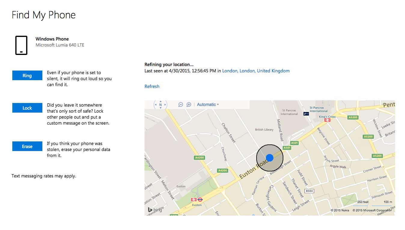 Find Your Windows Phone AFTER Its Already Loststolen Complete - Find location of phone number on map