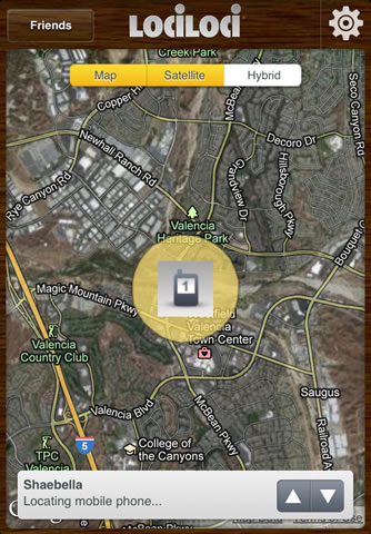 Lociloci family locator for iPhone