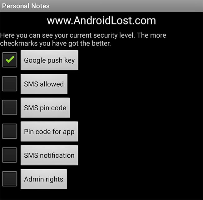 Lost Android app review – Control & find your lost phone