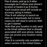Plan B technical details