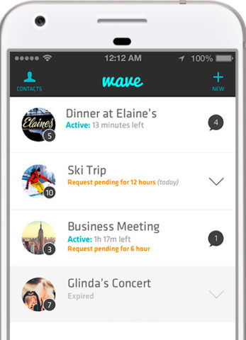 Wave Friends app